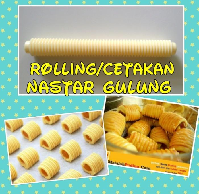 Jual Rolling Pin Cetakan Kue Nastar Gulung Kota Surabaya Rembulan Jingga Tokopedia