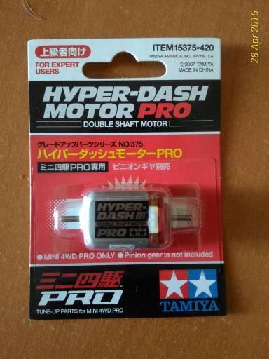 harga Tamiya part motor / dinamo hyper dash pro (double shaft) Tokopedia.com