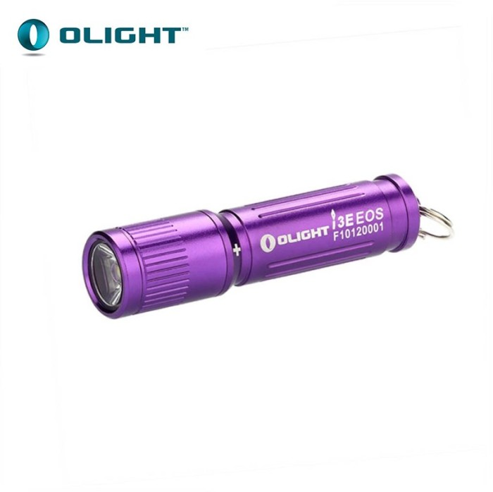 harga Olight i3e eos philips luxeon tx 90lm aaa flashlight senter led purple Tokopedia.com