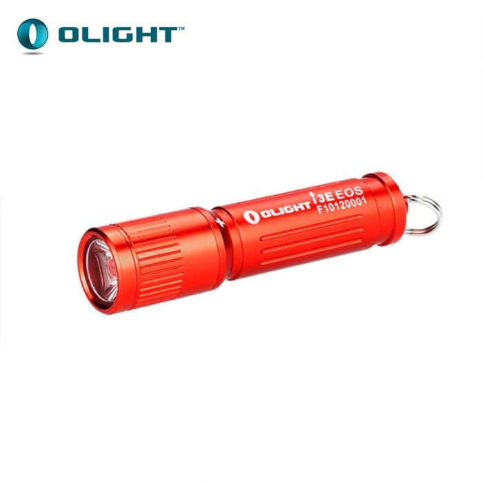 harga Olight i3e eos philips luxeon tx 90lm aaa flashlight senter led (red) Tokopedia