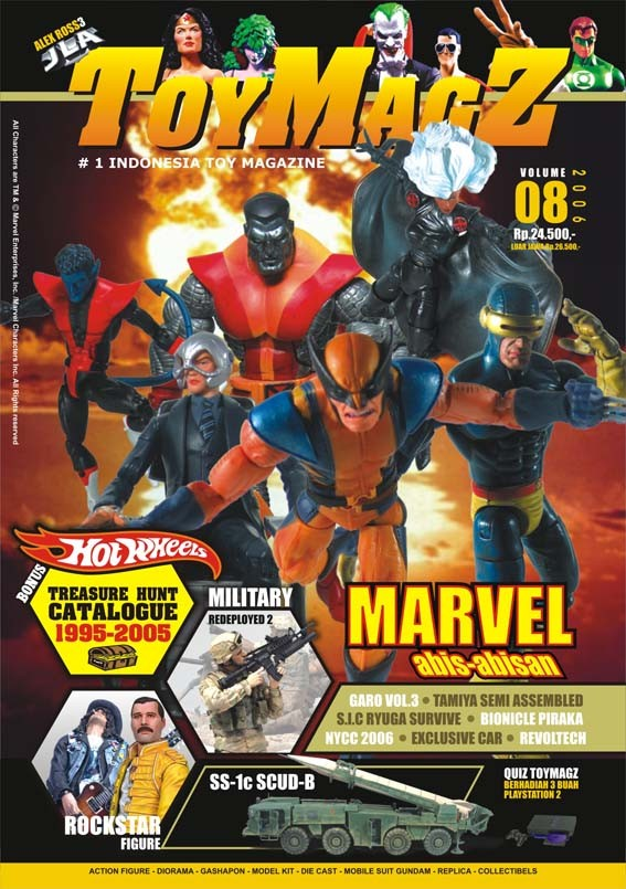 harga Toymagz volume 08 - marvel collection Tokopedia.com