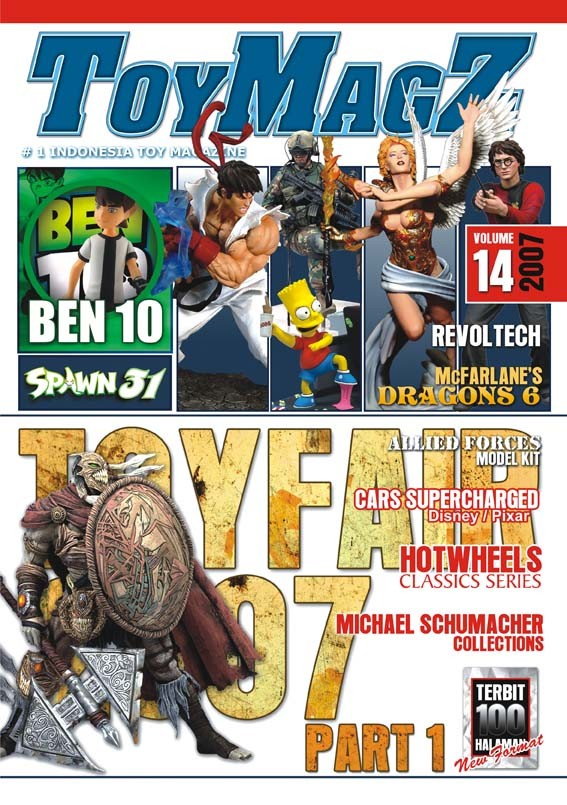 harga Toymagz volume 14 - toys fair news Tokopedia.com