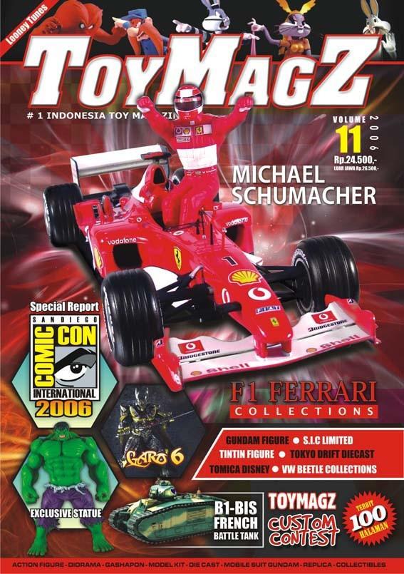 harga Toymagz volume 11 - michael schumacher f1 collection Tokopedia.com