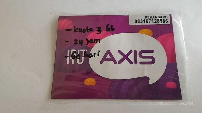 Foto Produk Kartu perdana Internet Axis 3GB dari Cindy seluler