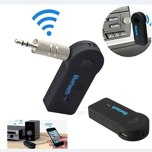Wireless Bluetooth Stereo Audio Receiver/ Dongle Music Receiver BT 350 - Hitam
