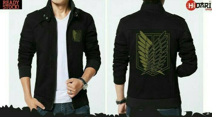 Jaket Distro Anime Attack On Titan SNK