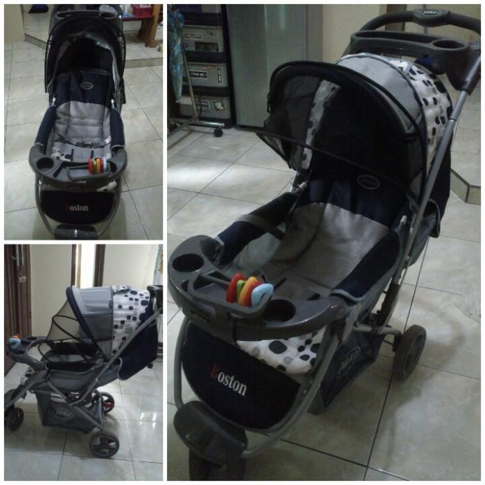 harga Stroller pliko boston 338 kereta bayi roda 3 ada 4 warna baru Tokopedia.com