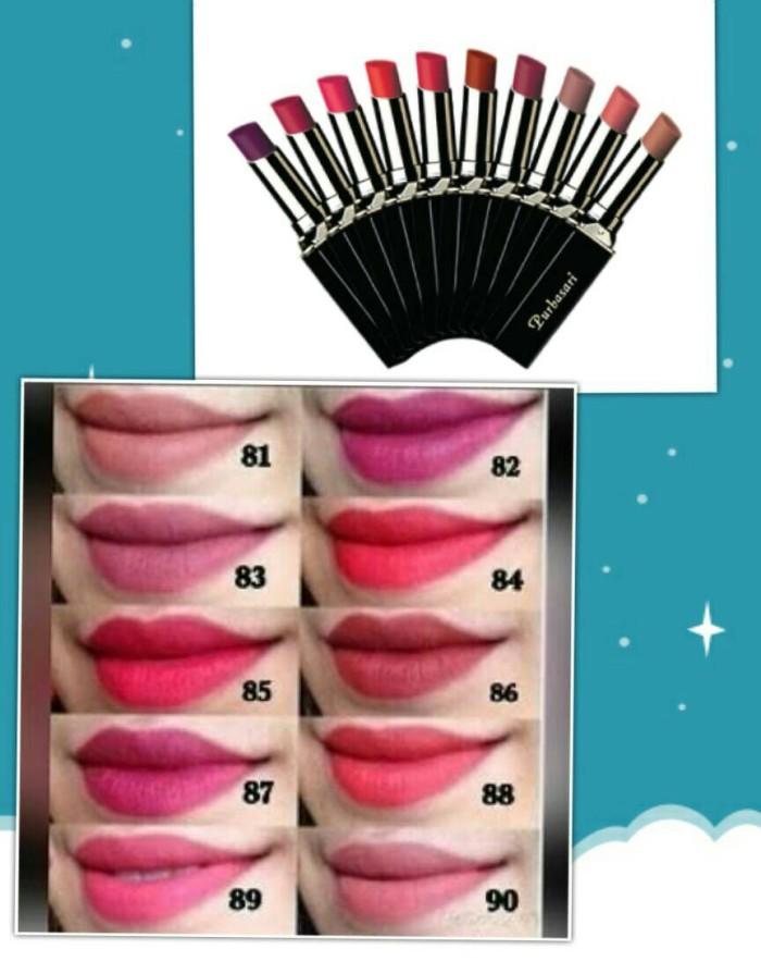Purbasari Lipstick Color Matte Shade 81, 89, 90