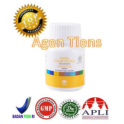... 10 Kapsul Source · Pemutih Kulit Wajah Herbal Alami Tiens Vitaline Vitality Softgels