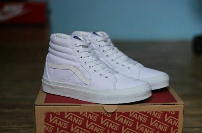 aa4fbd000b Jual VANS SK8 HI FULL WHITE - Kota Bandung - Repan Ol Shop