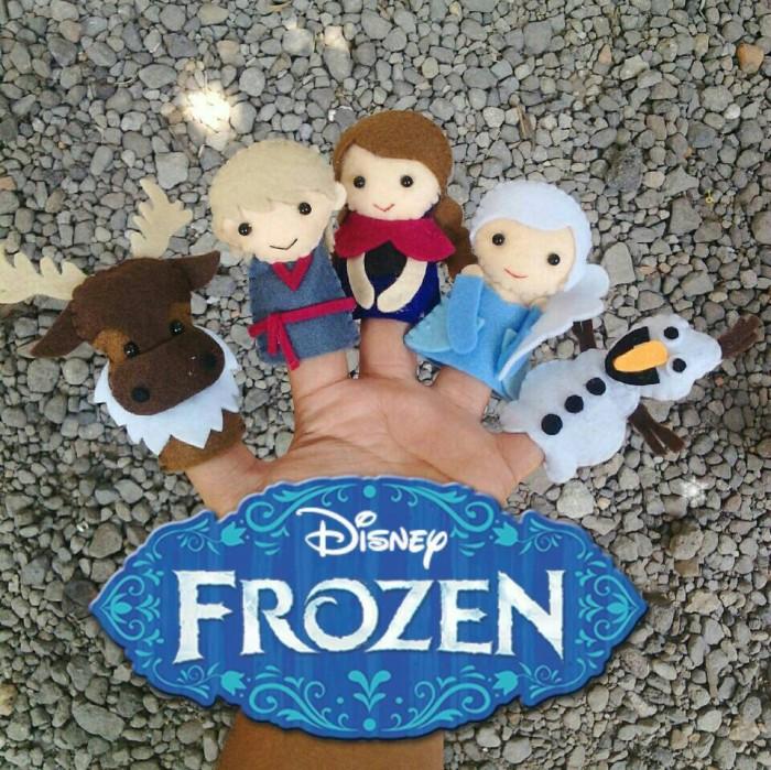 Jual Bonjar   boneka jari frozen - kyneara shop  f05f254bc6