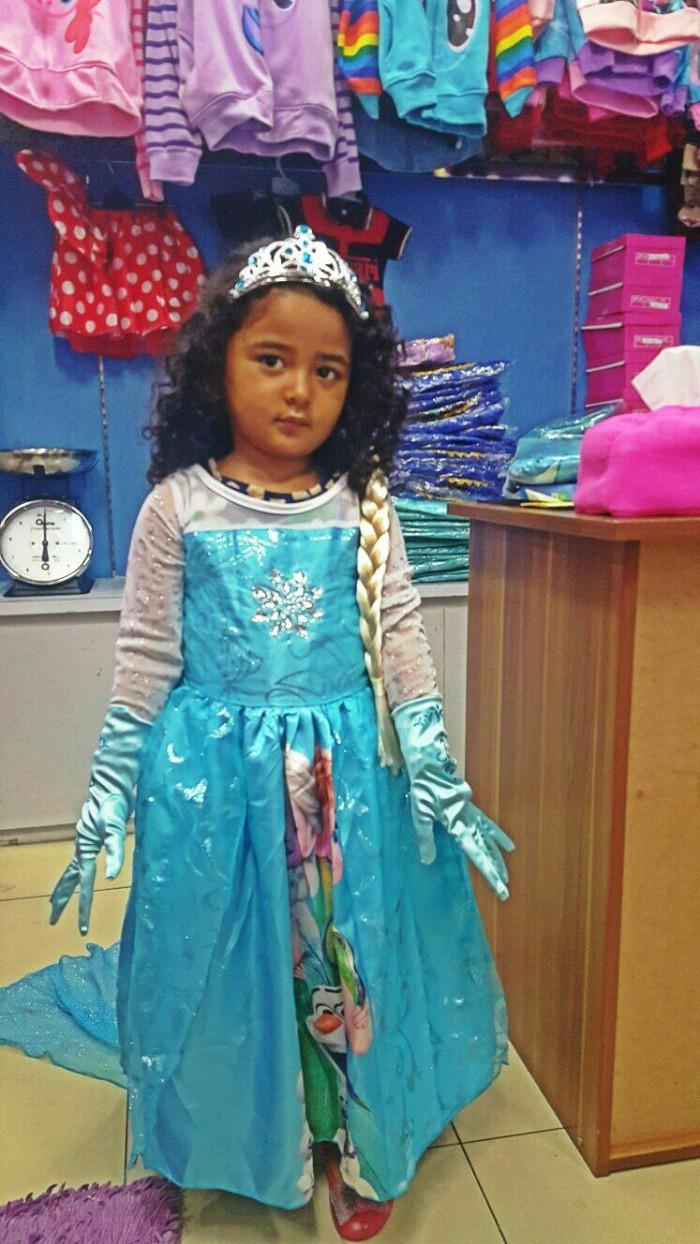 Jual Baju Frozen Elsa Gambar Kostum Elsa Frozen Picture 331PRINT Jakarta Barat Clariss Shop