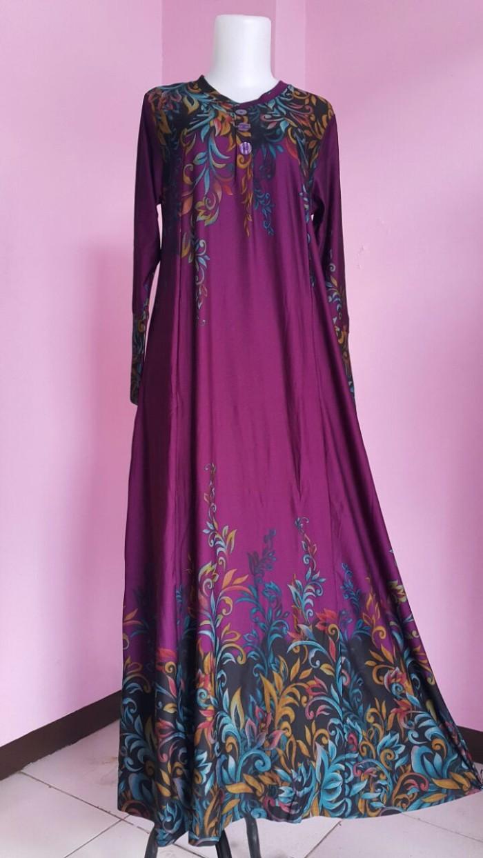 Foto Produk PURPLE G211CLPK/G 211 CLPK IRENE HIJAB MAXI GAMIS DRESS FASHION WANITA dari Warung Wongkito