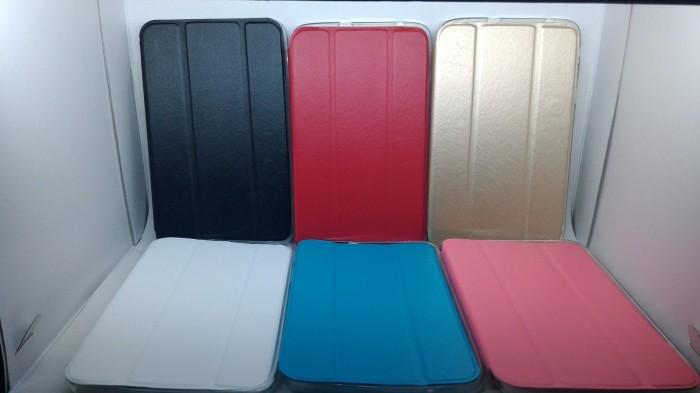 harga Smart leather flip soft cover casing case samsung galaxy tab 3v / 3 v Tokopedia.com