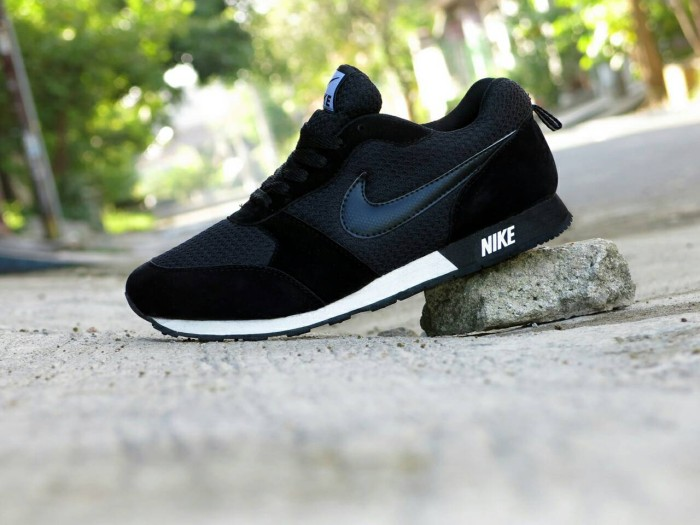 ... harga Sepatu sport nike waffle trainer full black   hitam   casual  sekolah Tokopedia.com 67c0ac8312