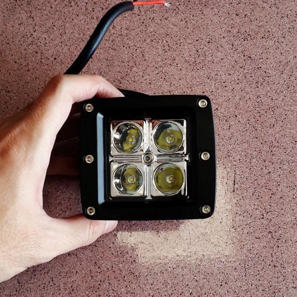 harga Lampu tembak sorot led flood 4 mata motor mobil tembus kabut aksesoris Tokopedia.com