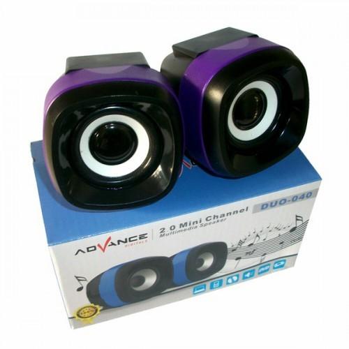 Speaker Advance Duo 040 / Duo-40 / Duo 40 / Duo-040 Speaker Komputer