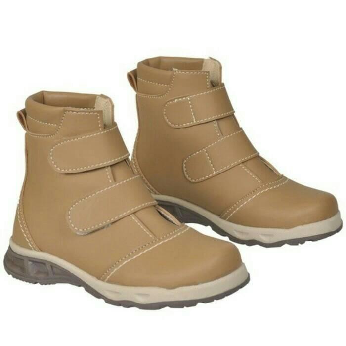 harga Sepatu boot anak laki laki sepatu santai sekolah java seven amu 012 Tokopedia.com