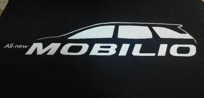 Jual Kaos Mobil Honda Mobilio Logo Kecil Bagian Depan Kiri Ar