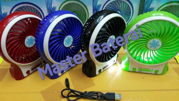 harga Kipas angin + powerbank dengan senter dan led Tokopedia.com