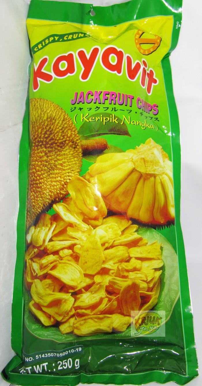 Jual Tjamilan Jackfruit Fruit Chips Keripik Nangka Cek Harga Di Buah Kripik Kayafit
