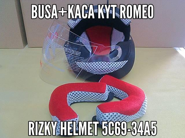 harga Busa helm + kaca helm kyt romeo Tokopedia.com