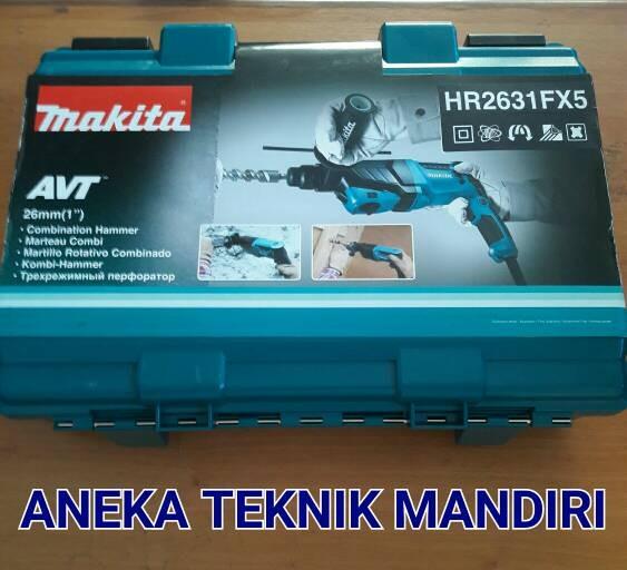 Jual Mesin Bor Beton Hammer Drill Makita Avt Hr 2631 F Hr2631f 26