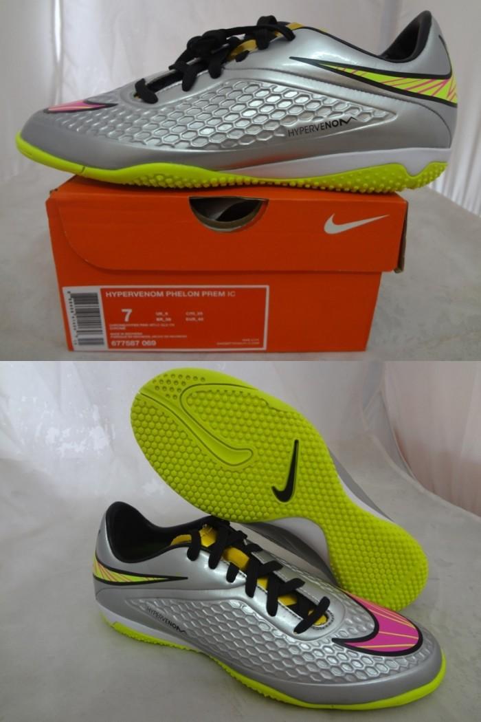 59f251a4926d Jual Sepatu Futsal Nike Hypervenom Phelon Prem IC 677587-069 Chrome ...