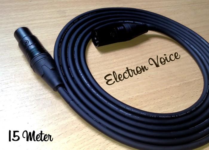 harga Kabel microphone/active speaker xlr male/female high quality 15 meter Tokopedia.com
