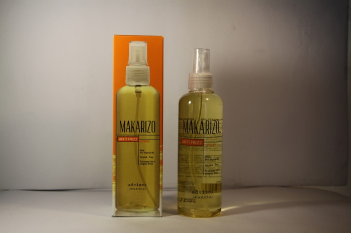 Makarizo Anti Frizz Spray Ukuran 240 Ml