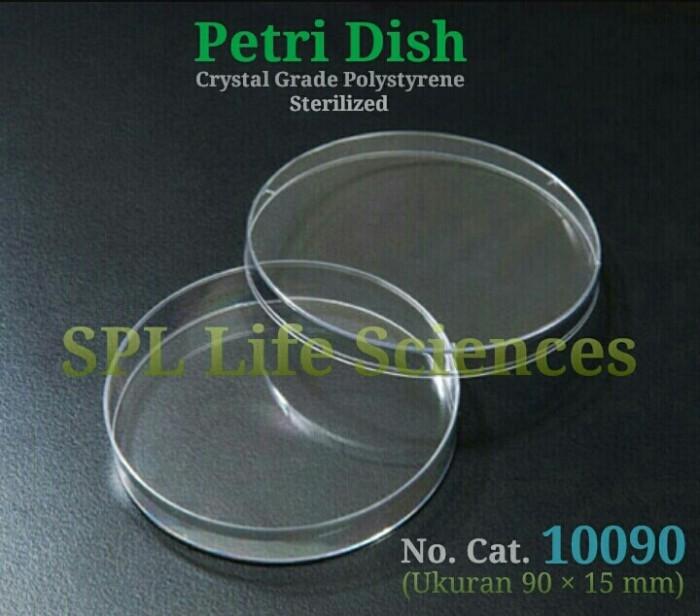 Jual Cawan Petri Plastik Petri Dish Disposable 90 X 15 Mm 500 Pcs