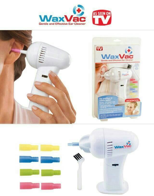 Glow Shop Waxvac Pembersih Kotoran Telinga Gratis Baterai Daftar Source · vacum ear cleaner alat pembersih kotoran telinga korek kuping waxvac