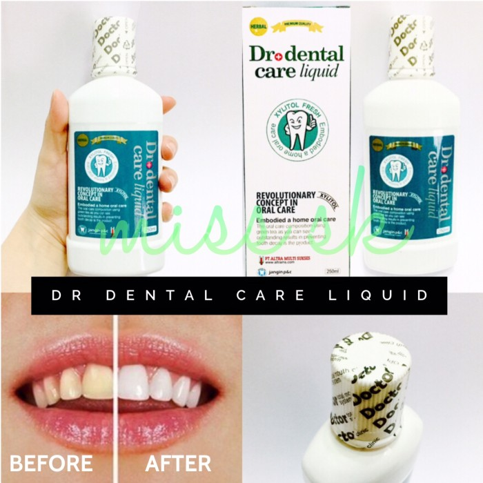 250 ml   Dr Dental Care Liquid BPOM ( obat kumur xylitol ) original b54842f782