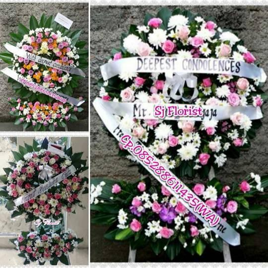 Jual Karangan Bunga Krans Ucapan Turut Berduka Cita Jakarta Pusat Popo Shop Online Tokopedia