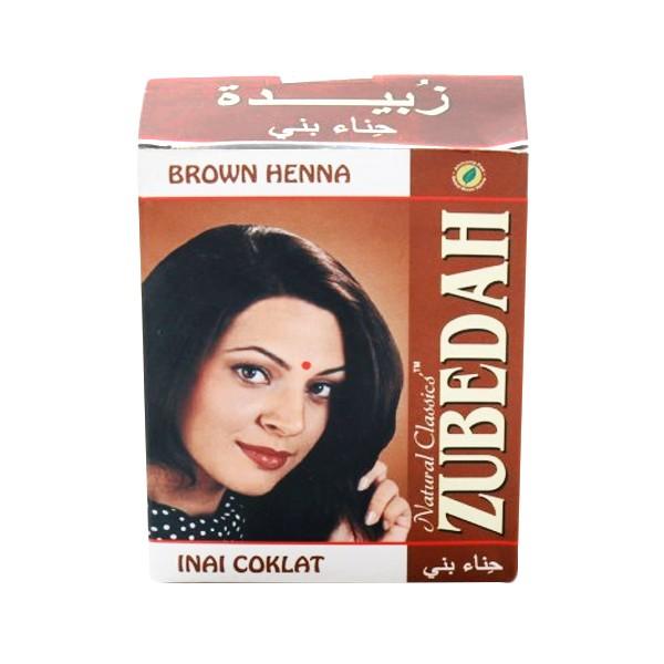 harga Zubedah henna inai coklat pewarna rambut [6 pcs] Tokopedia.com
