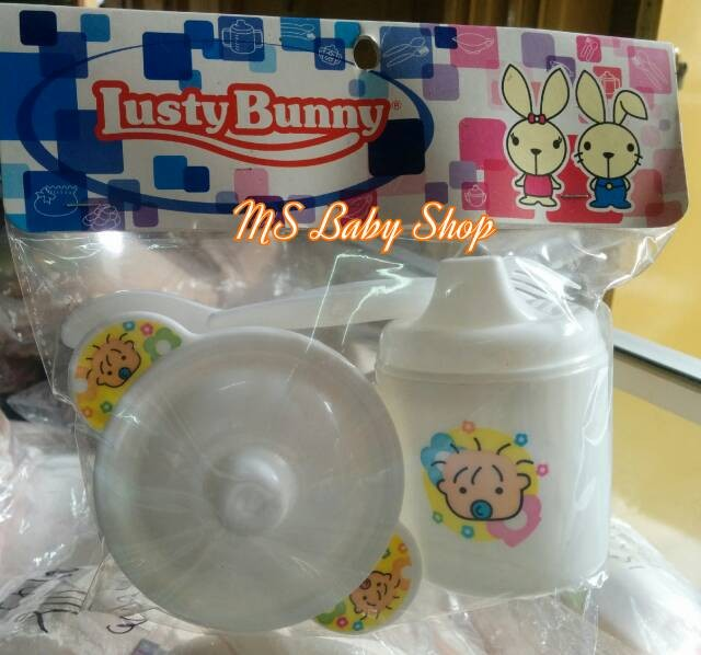 Foto Produk Feeding Set Lusty Bunny dari MS Baby Shop
