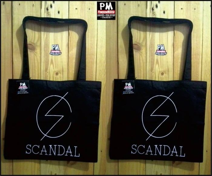 harga Totte bag scandal black Tokopedia.com