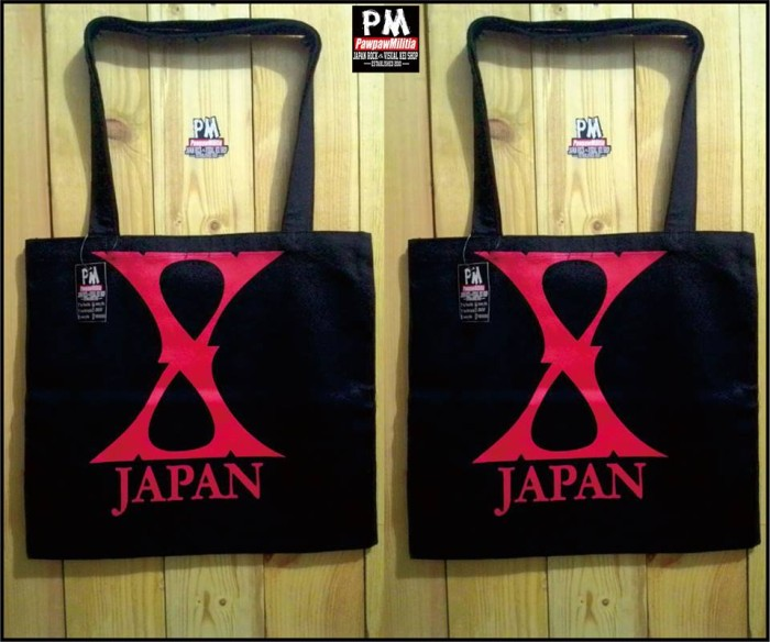 harga Totte bag x japan black Tokopedia.com