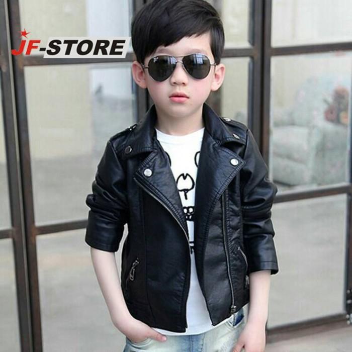 harga Jaket anak|jacket anak semi kulit skidrow|metal||leather|blazer Tokopedia.com