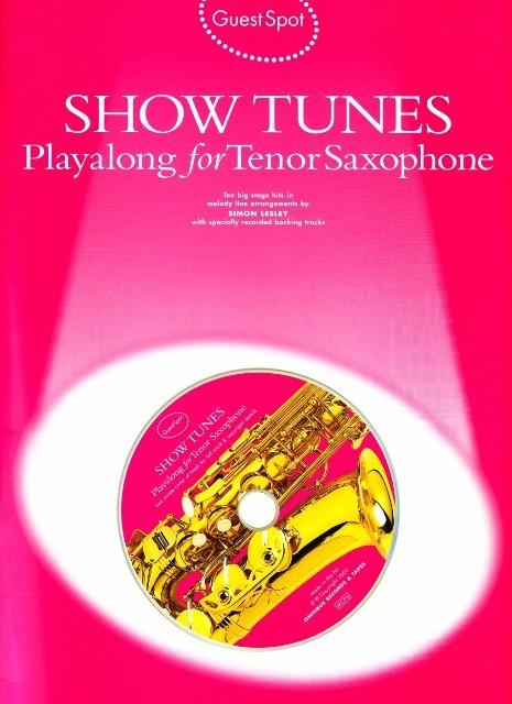 Buku Show Tunes Playalong for Tenor Saxophone