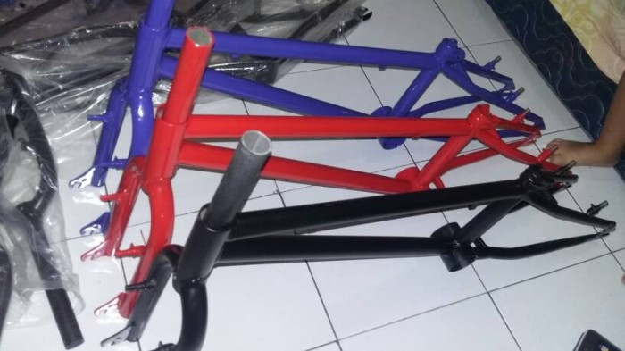 harga Frame+fork sepeda bmx street oversize Tokopedia.com