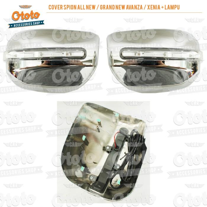 harga Cover spion all new / grand new avanza / xenia + lampu Tokopedia.com