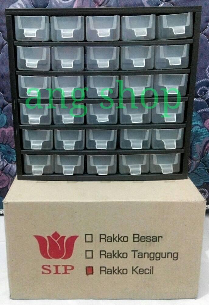 harga Rak komponen lemari spare part laci kecil isi 30 rako rakko merk sip Tokopedia.com