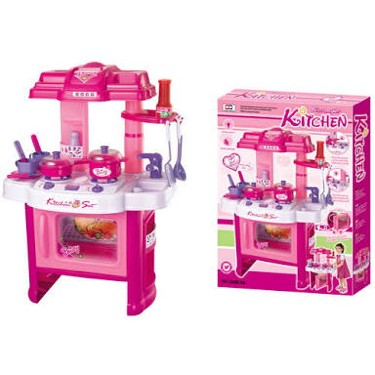 Jual Mainan Kitchen Set Anak Kitchen Play Set Besar Happylandtoys