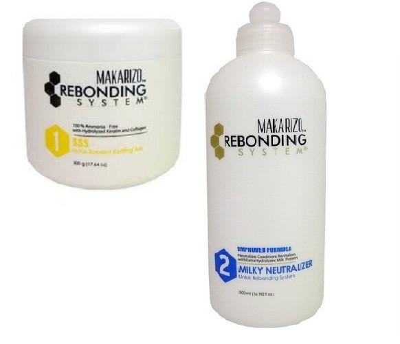 Jual Obat pelurus rambut 1 paket- Makarizo Rebonding System ( 500ml ... 5a721519be