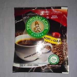 harga Kopi tgk aceh sachet 2 in 1 kopi + gula kualitas super isi 1 bal Tokopedia.com