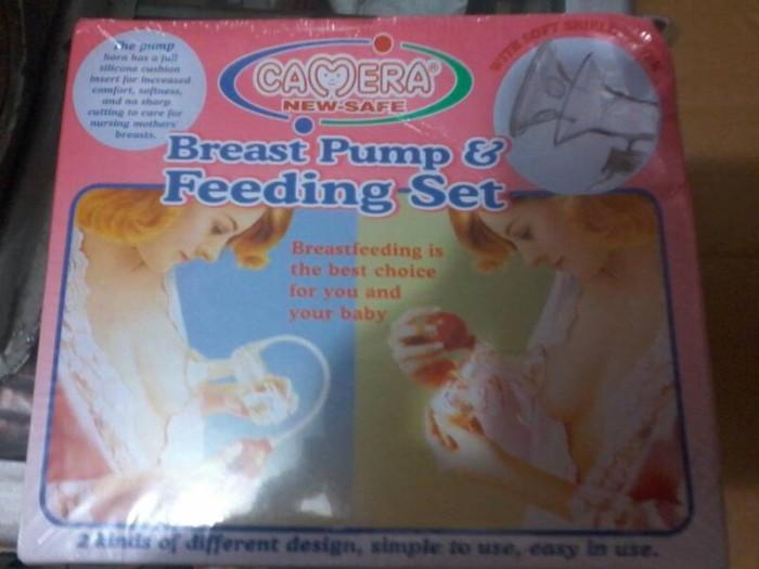 harga Pompa asi 1 set / breast pump &feeding set camera Tokopedia.com