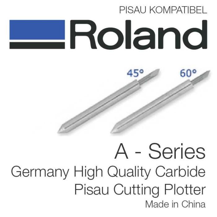 harga Roland a series cutting plotter blade isi 3 pcs Tokopedia.com