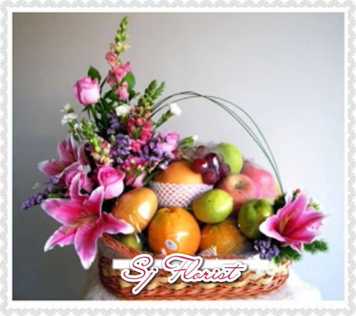 Jual Paket Karangan Bungaparcel Buah Segar Popo Shop Online