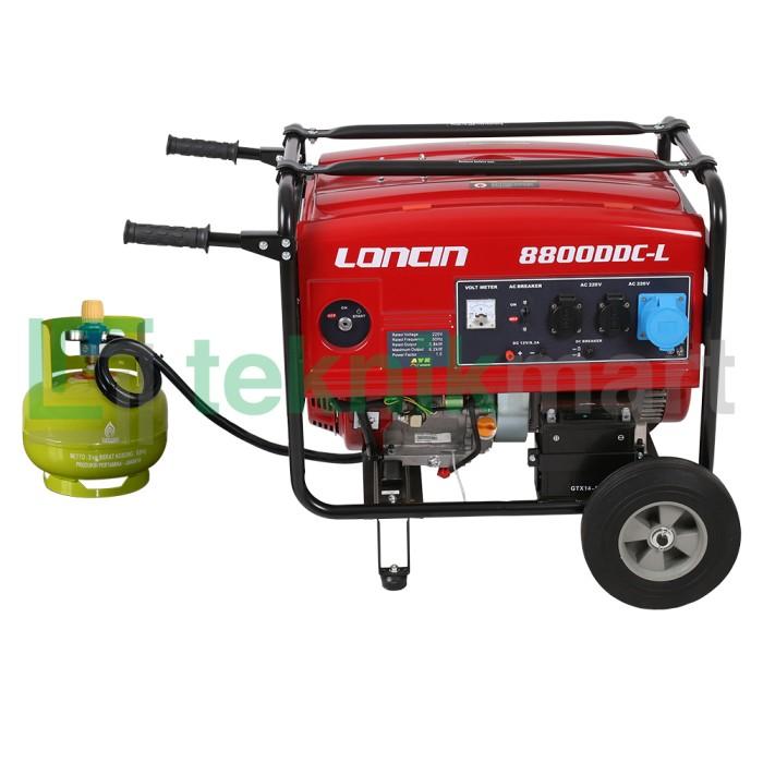 harga Genset / generator set gas lpg loncin lc8800ddc-l (6500 watt) Tokopedia.com